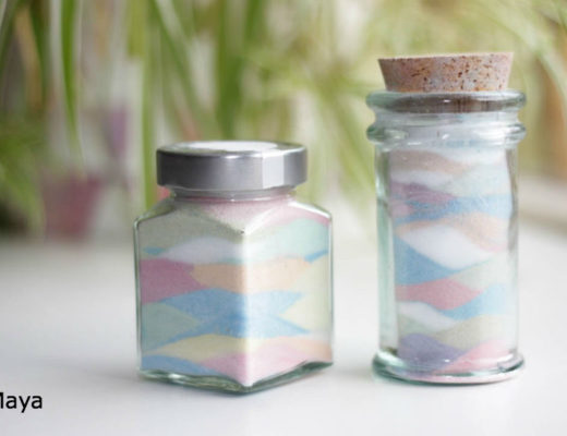 stoepkrijt zout, knutselen met kinderen, gekleurdzand maken, crafts for kids, happy sand