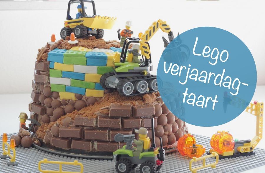 legotaart, lego verjaardagstaart, birthday cake, taart jongen, kitkat taart