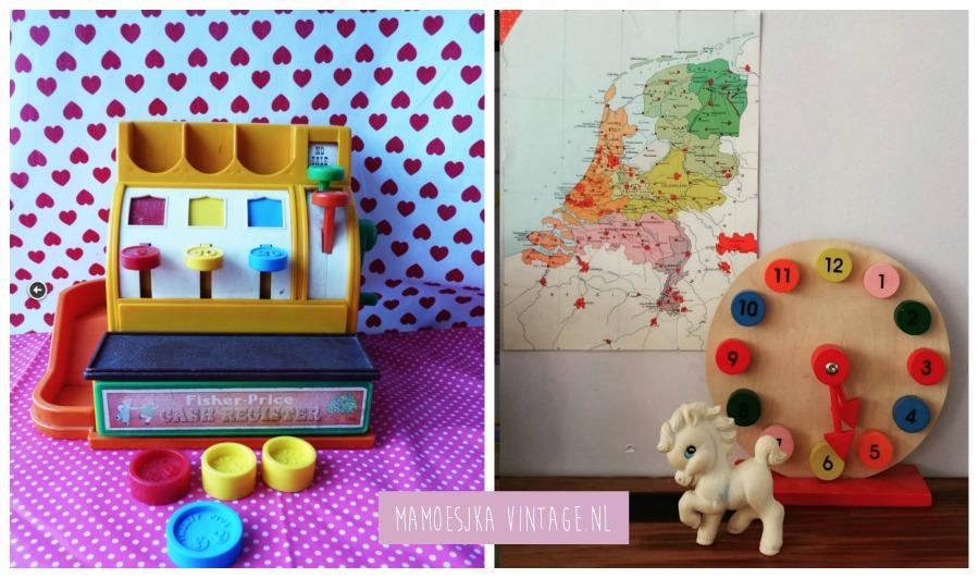 vintage speelgoed interieur website