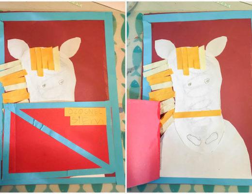Thema sinterklaas knutselen, creatief met kinderen, sinterklaasknuttel, paard van Sinterklaas knutselen, kleuters, middenbouw