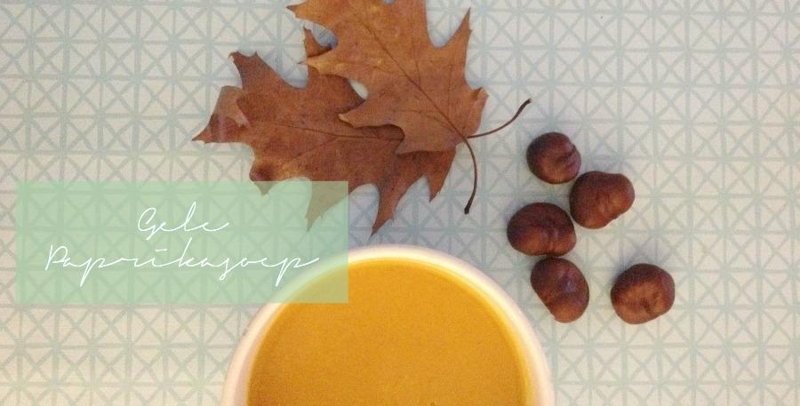 herfst soep
