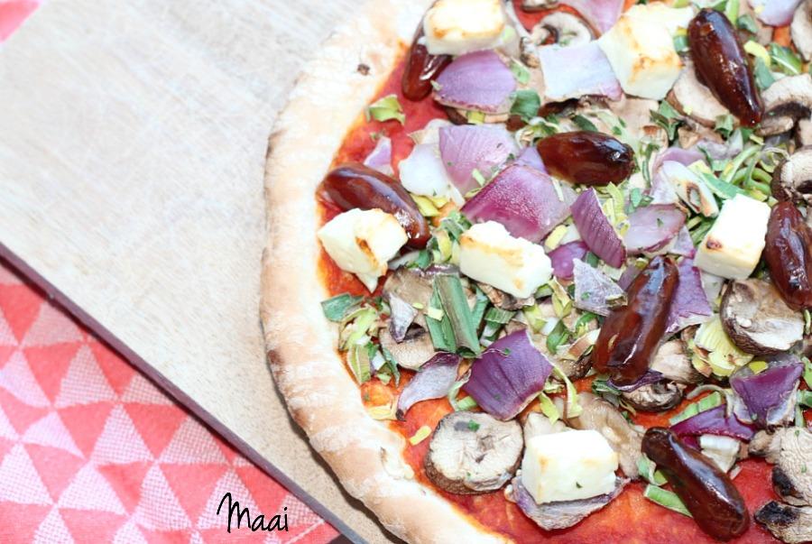 zelf je eigen pizza beleggen