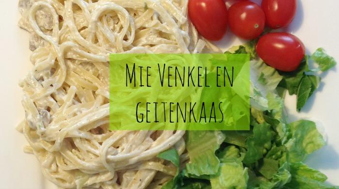 vegetarisch recept mie venkel geitenkaas