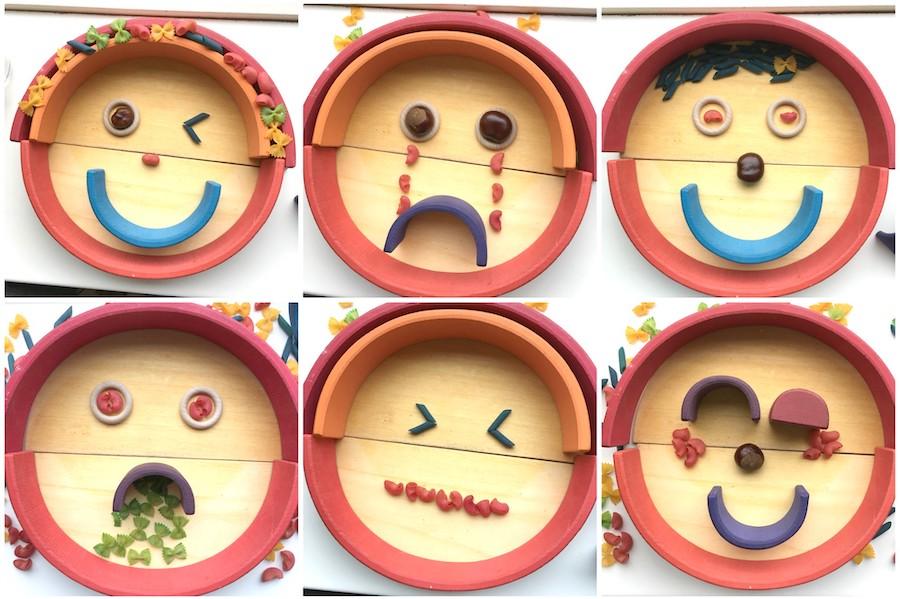 Spelideeën met de houten regenboog, spelvormen houten regenboog, regenboog Grimm's, houten speelgoed, houten regenboog, waldorf, open einde speelgoed