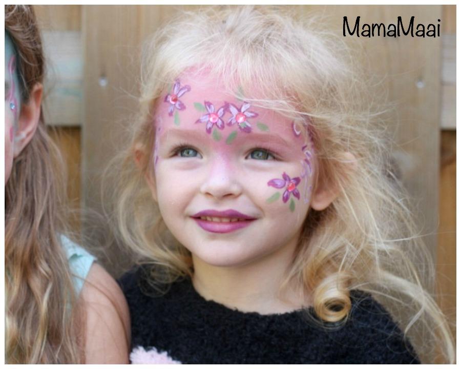 schminken, kinderfeestje