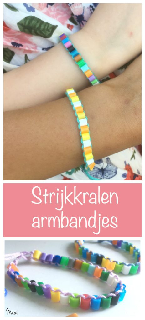 strijkkralen armbandjes, hamabeads, knutselen, crafts for kids
