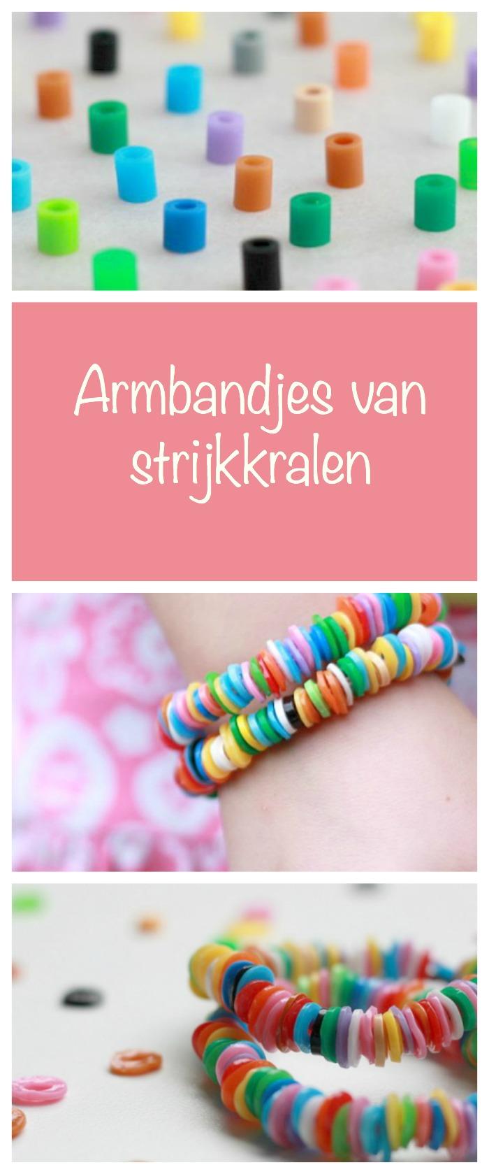 strijkkralen armbandjes maken, knutselen met kinderen, crafts for kids, hamabeads