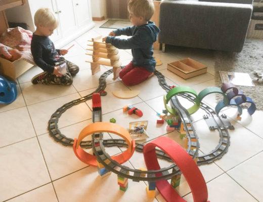 speelgoed vijfjarige, kapla, duplotrein, regenboog grimms