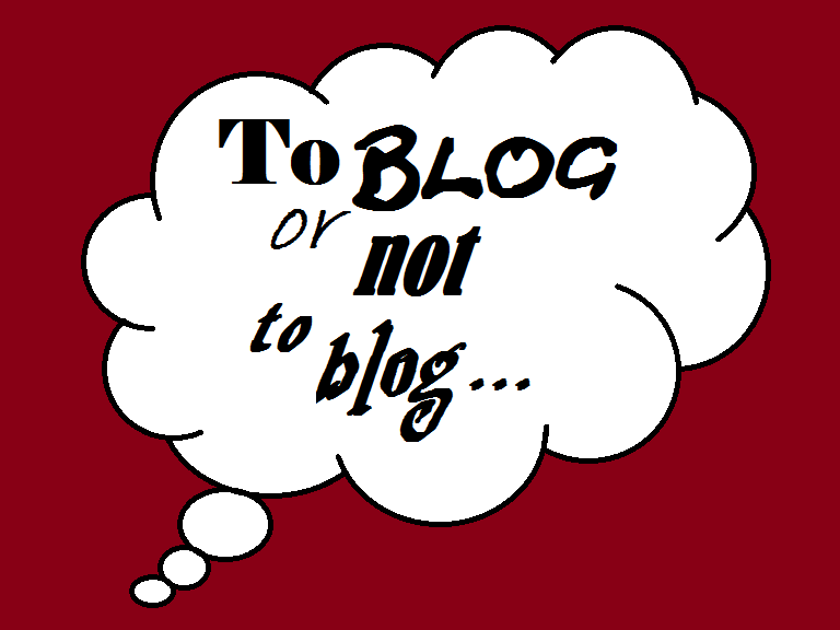 to blog