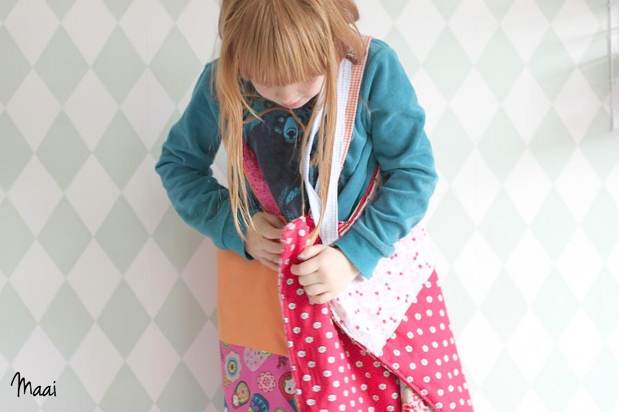DIY tote bag, katoenen tasje, zelf katoenen tasje naaien, crea hop