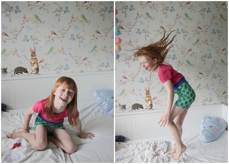 DIY, recykleren, snel jurkje van oud t shirt maken voor mijn dochter, kinderjurkje naaien
