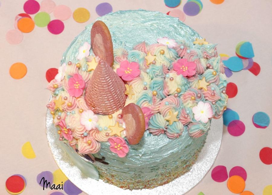 regenboogcake, eenhoorntaart, unicorn rainbow cake
