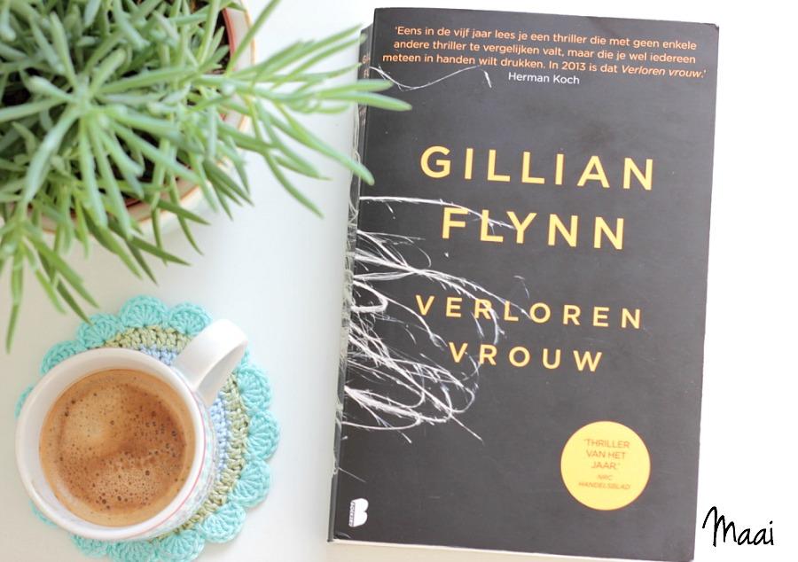 verloren vrouw, Gillian Flynn, thriller