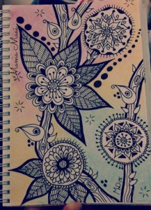 zentangle, doodles, tekenen